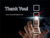 Businessman Checking Mark on Checklist PowerPoint Template#20