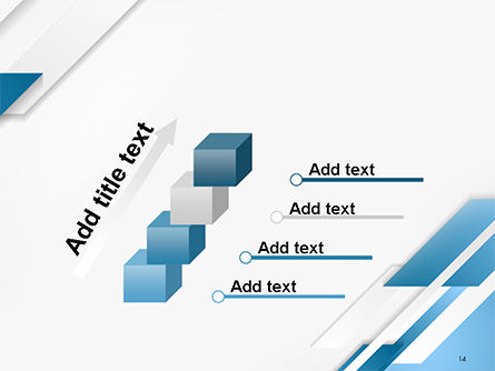 Abstract Parallel Diagonal Stripes PowerPoint Template Slide 14