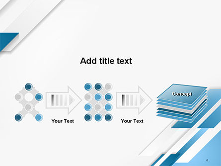 Abstract Parallel Diagonal Stripes PowerPoint Template Slide 9