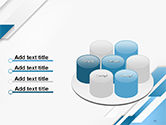 Abstract Parallel Diagonal Stripes PowerPoint Template#12