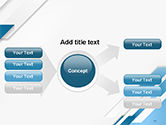 Abstract Parallel Diagonal Stripes PowerPoint Template#15
