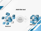 Abstract Parallel Diagonal Stripes PowerPoint Template#17