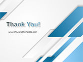 Abstract Parallel Diagonal Stripes PowerPoint Template#20