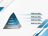 Abstract Parallel Diagonal Stripes PowerPoint Template#4