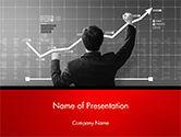 Business: Plantilla de PowerPoint - hombre de negocios feliz con los beneficios corporativos #14742