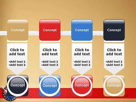 Bowling Illustration PowerPoint Template Slide 18