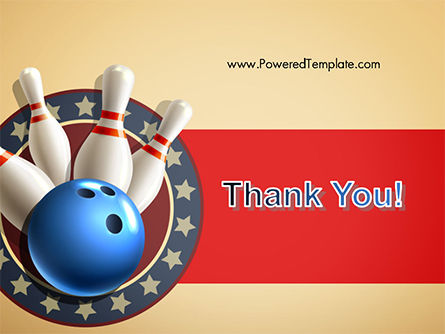 Bowling Illustration PowerPoint Template Slide 20