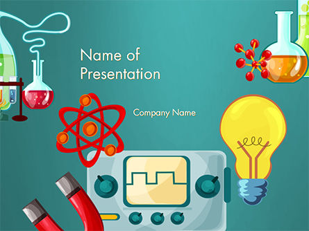 Science Education Powerpoint Template Backgrounds