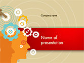 Business Concepts: Automation Concept PowerPoint Template #14746