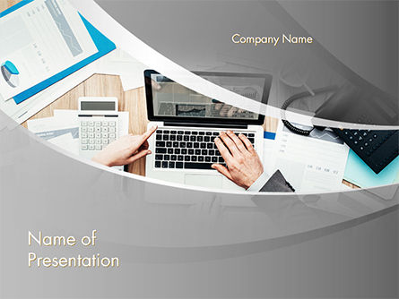 Project Review PowerPoint Template, 14748, Consulting — PoweredTemplate.com