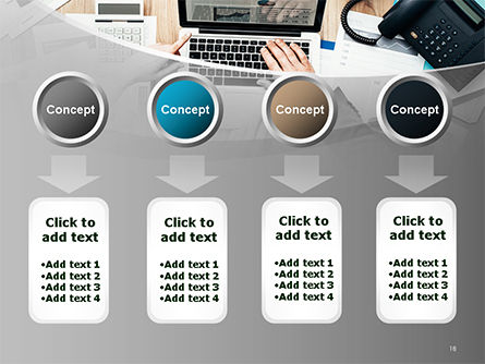 Project Review PowerPoint Template Slide 18