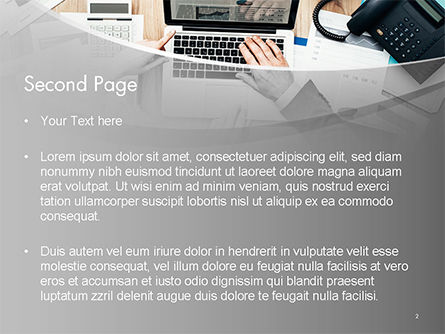 Project Review PowerPoint Template, Slide 2, 14748, Consulting — PoweredTemplate.com