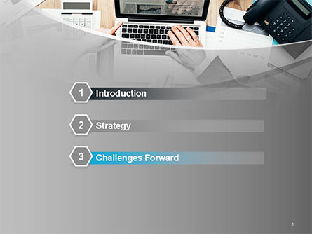 Project Review PowerPoint Template, Slide 3, 14748, Consulting — PoweredTemplate.com