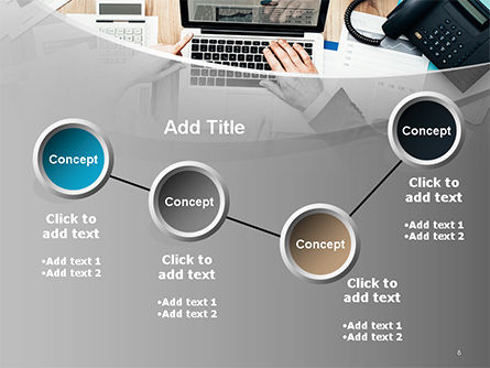 Project Review PowerPoint Template Slide 6
