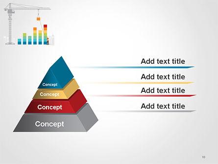 Building Business Graph PowerPoint Template Slide 10