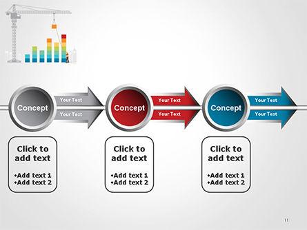Building Business Graph PowerPoint Template Slide 11
