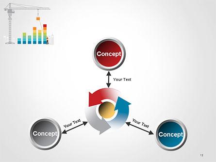 Building Business Graph PowerPoint Template Slide 12