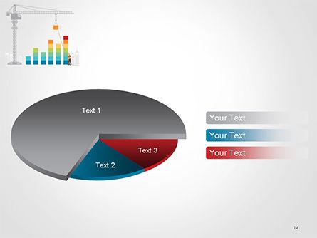 Building Business Graph PowerPoint Template Slide 14