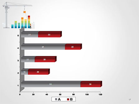 Building Business Graph PowerPoint Template Slide 17