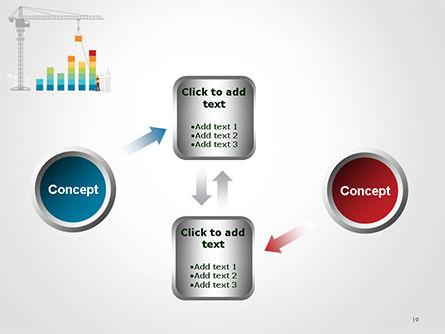 Building Business Graph PowerPoint Template Slide 19