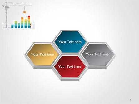 Building Business Graph PowerPoint Template Slide 5