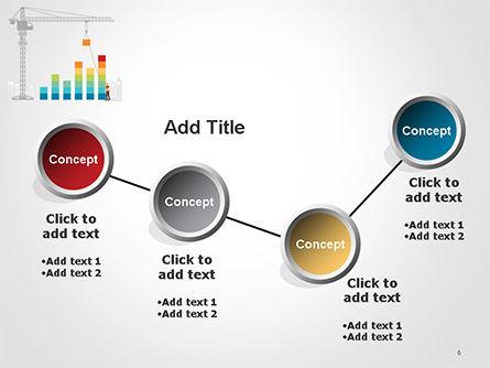 Building Business Graph PowerPoint Template Slide 6