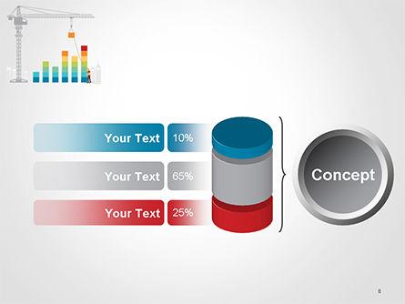 Building Business Graph PowerPoint Template Slide 8