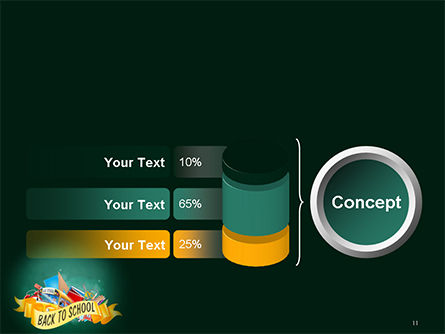 Back to School Theme PowerPoint Template Slide 11
