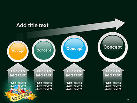 Back to School Theme PowerPoint Template Slide 13