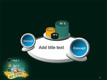 Back to School Theme PowerPoint Template Slide 16