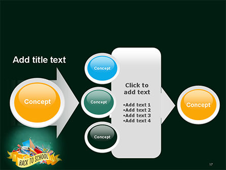 Back to School Theme PowerPoint Template Slide 17
