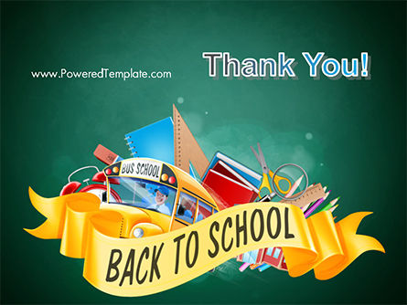 Back to School Theme PowerPoint Template Slide 20