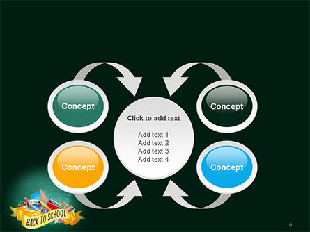 Back to School Theme PowerPoint Template Slide 6