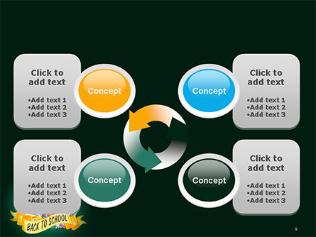 Back to School Theme PowerPoint Template Slide 9