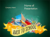 Education & Training: Terug Naar School Thema PowerPoint Template #14751