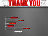 Thank You Word Cloud in Different Languages PowerPoint Template#11