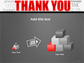 Thank You Word Cloud in Different Languages PowerPoint Template#13