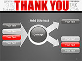 Thank You Word Cloud in Different Languages PowerPoint Template#15