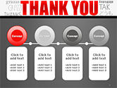 Thank You Word Cloud in Different Languages PowerPoint Template#5