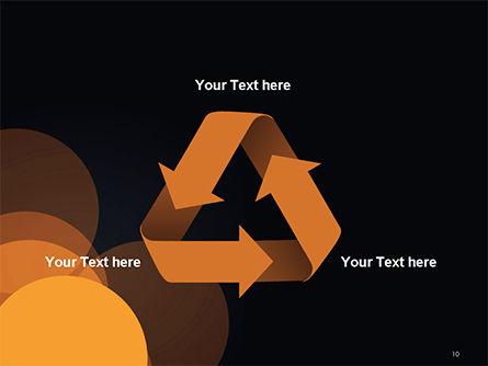 Flat Overlap Spots PowerPoint Template Slide 10
