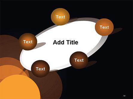 Flat Overlap Spots PowerPoint Template Slide 14