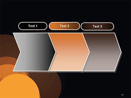 Flat Overlap Spots PowerPoint Template Slide 16