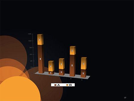 Flat Overlap Spots PowerPoint Template Slide 17