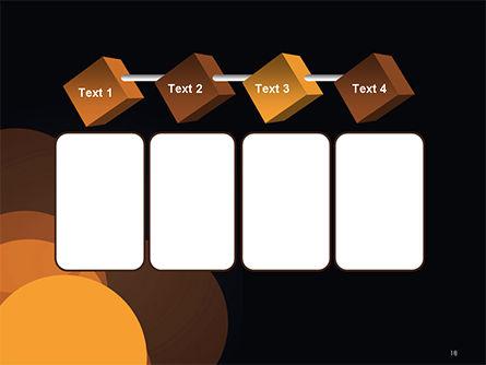 Flat Overlap Spots PowerPoint Template Slide 18