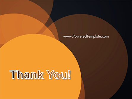 Flat Overlap Spots PowerPoint Template Slide 20