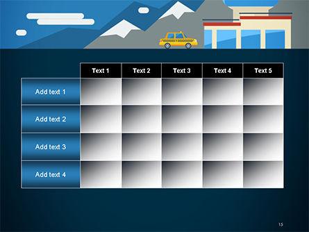 Air Transportation PowerPoint Template Slide 15