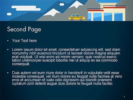 Air Transportation PowerPoint Template Slide 2