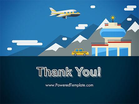 Air Transportation PowerPoint Template Slide 20