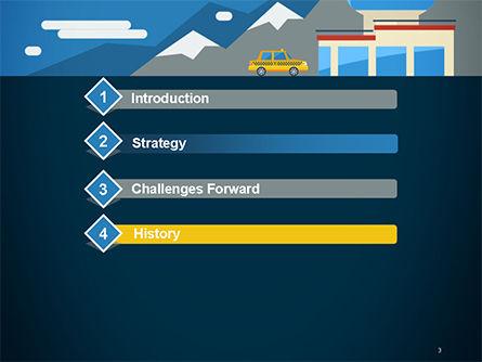 Air Transportation PowerPoint Template Slide 3