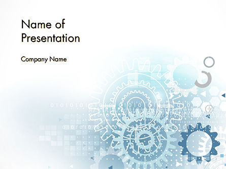 Industrial Engineering Theme PowerPoint Template